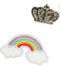 kit patches e broches sly wear - tricae