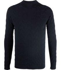 giorgio armani knitted sweater
