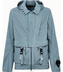 c.p company giacca in nylon cangiante