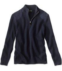 clays quarter-zip sweater / clays quarter zip sweater, navy, xx large