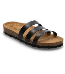 barba shoes summer shoes flat sandals svart re:designed est 2003