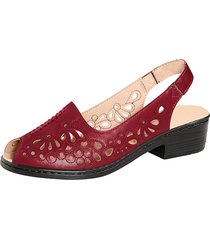sandaletter julietta röd