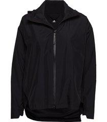 w urban cp jkt outerwear sport jackets zwart adidas performance