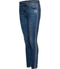 opus skinny jeans ely denim tape