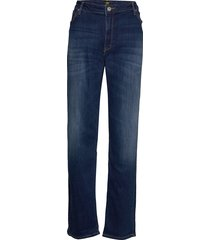 marion straight ninety nine rechte jeans blauw lee jeans