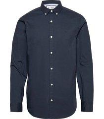 long sleeved cotton poplin shirt skjorta casual blå original penguin