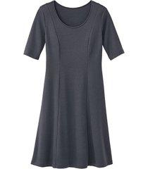 jersey jurk, leisteen 42
