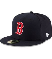 new era boston red sox authentic collection 59fifty cap