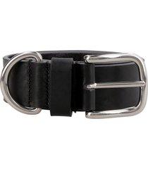 ami alexandre mattiussi leather belt