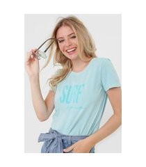 blusa rip curl washed surf top azul