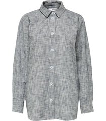blouse alba grijs