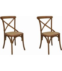 conjunto 02 cadeiras katrina bétula
