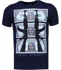 ak-47 dollar - rhinestone t-shirt