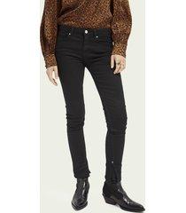 scotch & soda la bohemienne plus mid rise skinny jeans – cast a spell