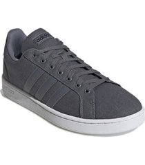 tenis grand court gris tela