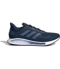 zapatilla azul adidas galaxar run
