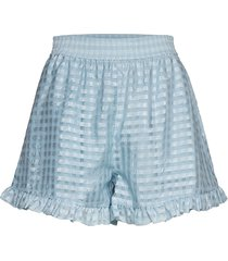 joselyn, 864 gingham poly shorts flowy shorts/casual shorts stine goya