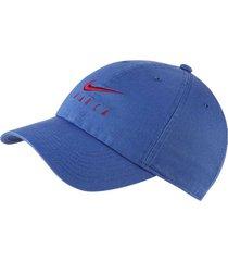 gorra azul nike barcelona heritage azul