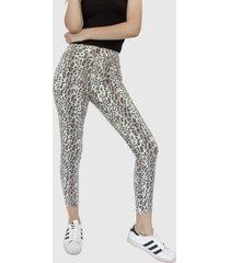 jeans animal print leopard beige racaventura