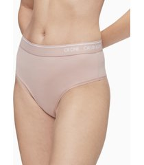 calvin klein women's ck one high-waist thong underwear