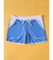 hombre verano playa shorts de secado rápido boxer bañadores