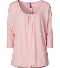 maglia oversize (rosa) - rainbow