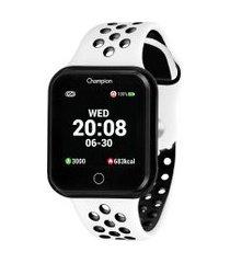 relógio digital champion smart masculino - ch50006k preto