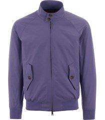 baracuta g9 classic harrington jacket - lavander brcps0001bcny14240