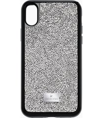 custodia smartphone con bordi protettivi integrati glam rock, iphoneâ® x/xs, grigio