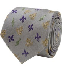 men's mardi gras mask tie