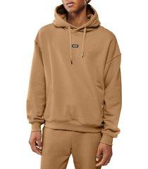 men's mackage hoodie, size x-large - brown