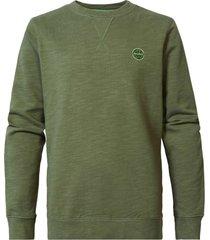 petrol industries m-1010--swr305 sweater r-neck 6134 dusty army -