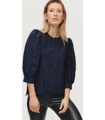blus slrajka blouse