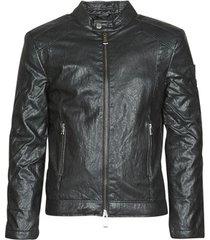 leren jas guess pu leather biker