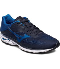 wave rider 23 shoes sport shoes running shoes blå mizuno