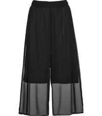 pantaloni culotte in chiffon (nero) - bpc selection