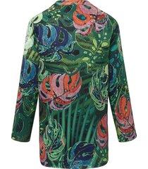 tuniek met lange mouwen van peter hahn multicolour