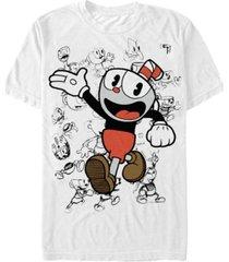 fifth sun men's character sketches short sleeve t- shirt