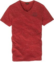 v-neck t-shirt yarn jersey