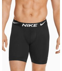 nike men's 3-pack essential long boxer briefs