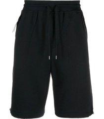 c.p. company diagonal raised fleece shorts