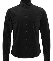 kyoto skjorta casual svart bruun & stengade