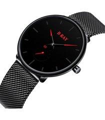 reloj b ray 9002 minimal - rojo