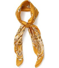 mens yellow paisley bandana*