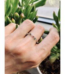 pierścionek minimalny-industrialny. utkany.