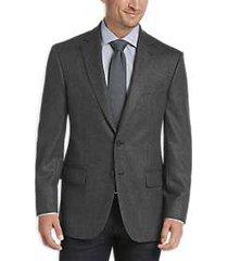 joseph abboud limited edition charcoal herringbone modern fit sport coat