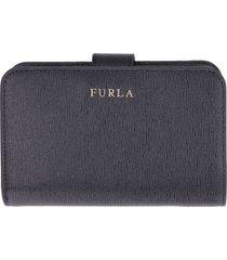 furla babylon leather wallet