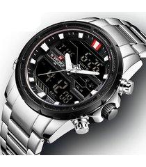 reloj hombre naviforce 9138 - plata