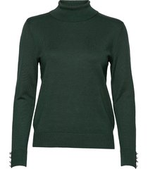 pullover-knit light turtleneck polotröja grön brandtex