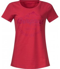 bergans t-shirt women classic strawberry bougainvillea-s